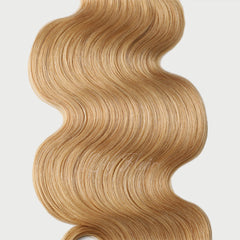 #26 Golden Blonde Clip-in Hair Extensions-1Pc.Sextuple Wefts