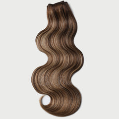 #4-26 Highlights Clip-in Hair Extensions-1Pc.Sextuple Wefts