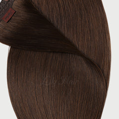 #4 Chestnut Brown Classic Tape In Hair Extensions 2.5g-piece 100g