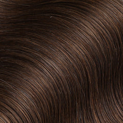 #4 Chestnut Brown Nano Ring Hair Extensions 1g-strand 100g
