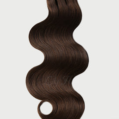 #4 Chestnut Brown Pre-Bonded V Tip Hair Extensions 1g-strand 100g