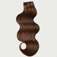 #6 Cappuccino Clip-in Hair Extensions-1Pc.Sextuple Wefts