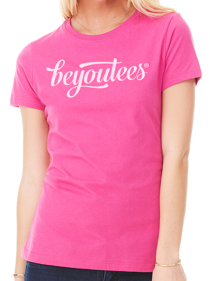 BeYouTees® Signature logo graphic tee