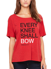 BOW DOWN SCRIPTURE TEE