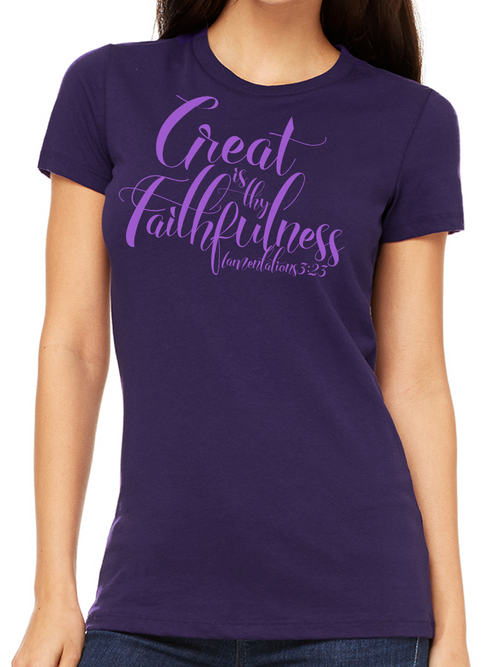 FAITHFULNESS TEE