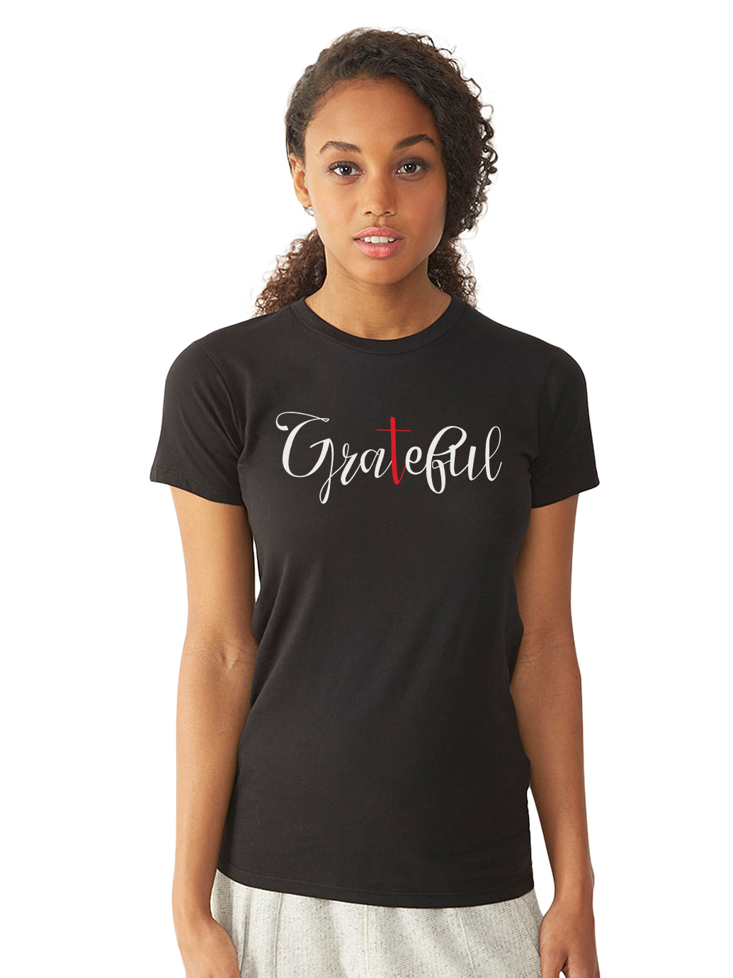 BeYouTees® Grateful graphic tee