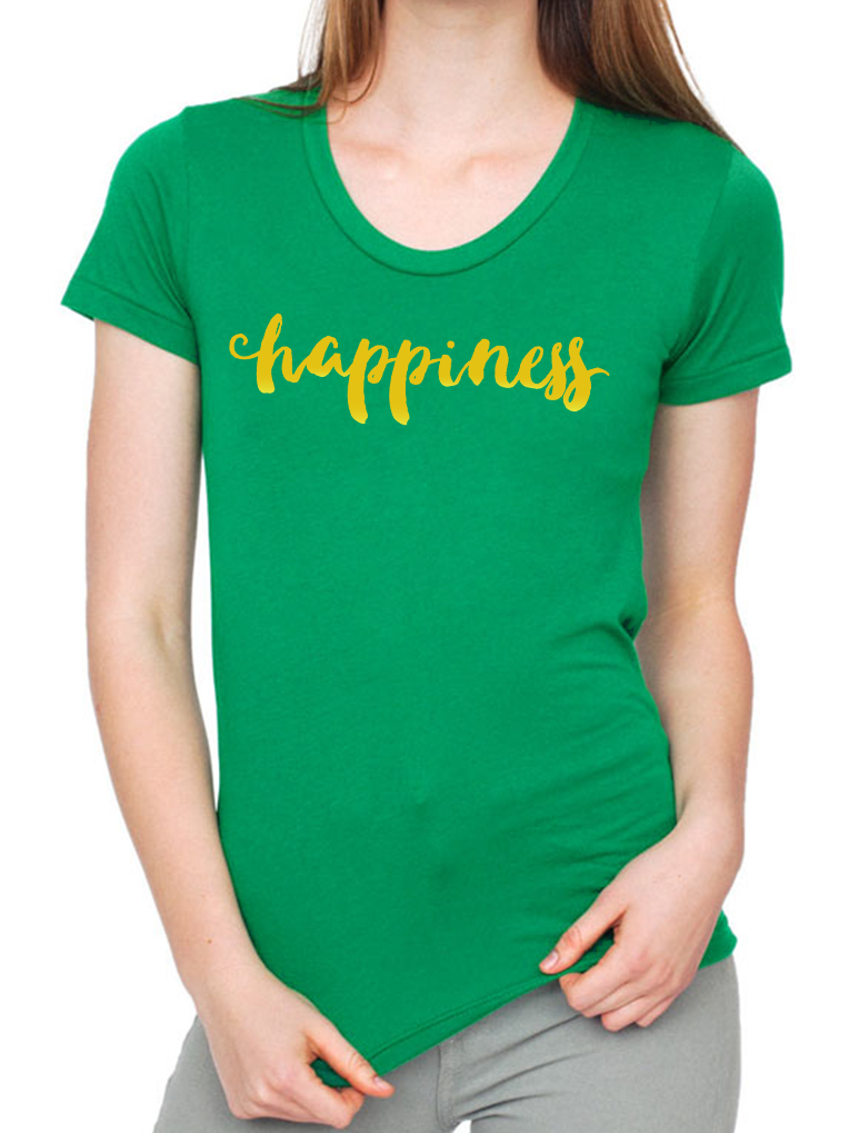 BeYouTees® Happiness graphic tee