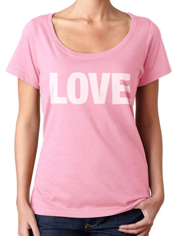 BeYouTees® Pink Scribble Heart graphic tank