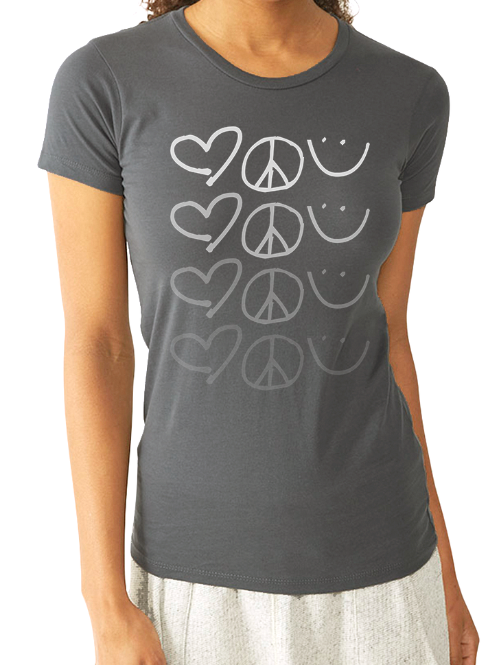 LOVE PEACE HAPPINESS TEE