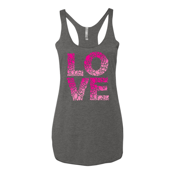 BeYouTees® Love Leaf graphic tank