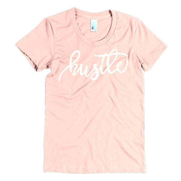 BeYouTees® Hustle graphic tee