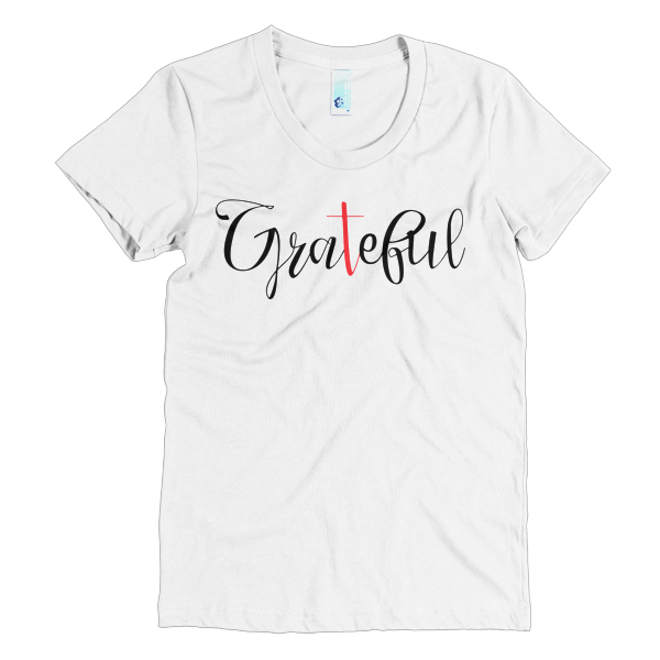 BeYouTees® Grateful II graphic tee