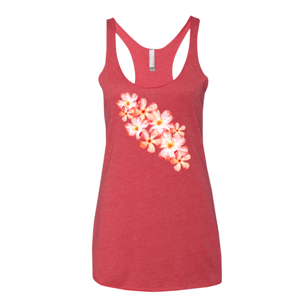 BeYouTees® Floral Sash graphic tank
