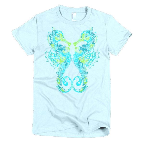 BeYouTees® Seahorse graphic tee