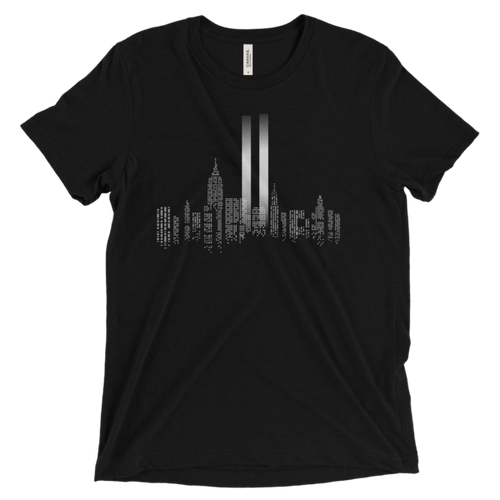 COMMEMORATIVE 9/11 UNISEX TEE