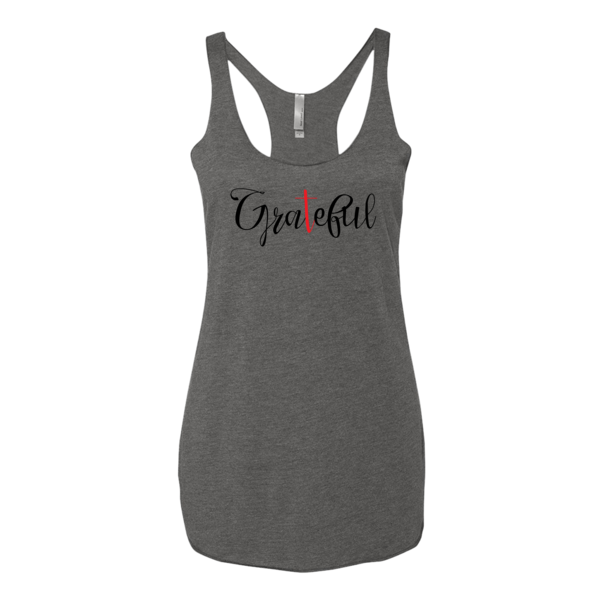 BeYouTees® Grateful II graphic tank