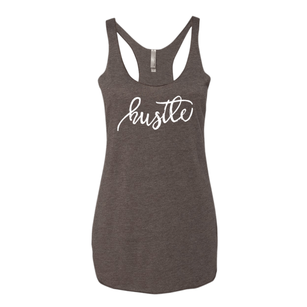 BeYouTees® Hustle graphic tank