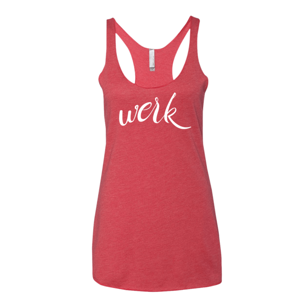 BeYouTees® Werk graphic tank