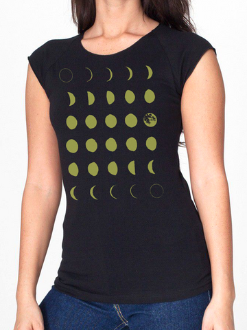 BeYouTees® Moon graphic tank