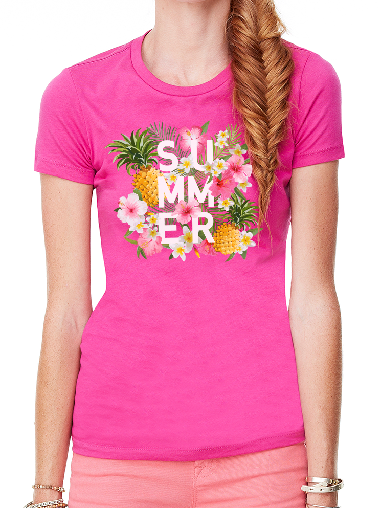 BeYouTees® Tropical Summer tee