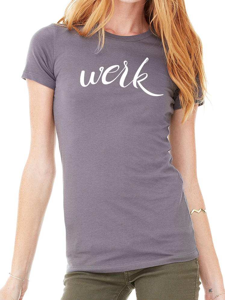 BeYouTees® Werk graphic tee