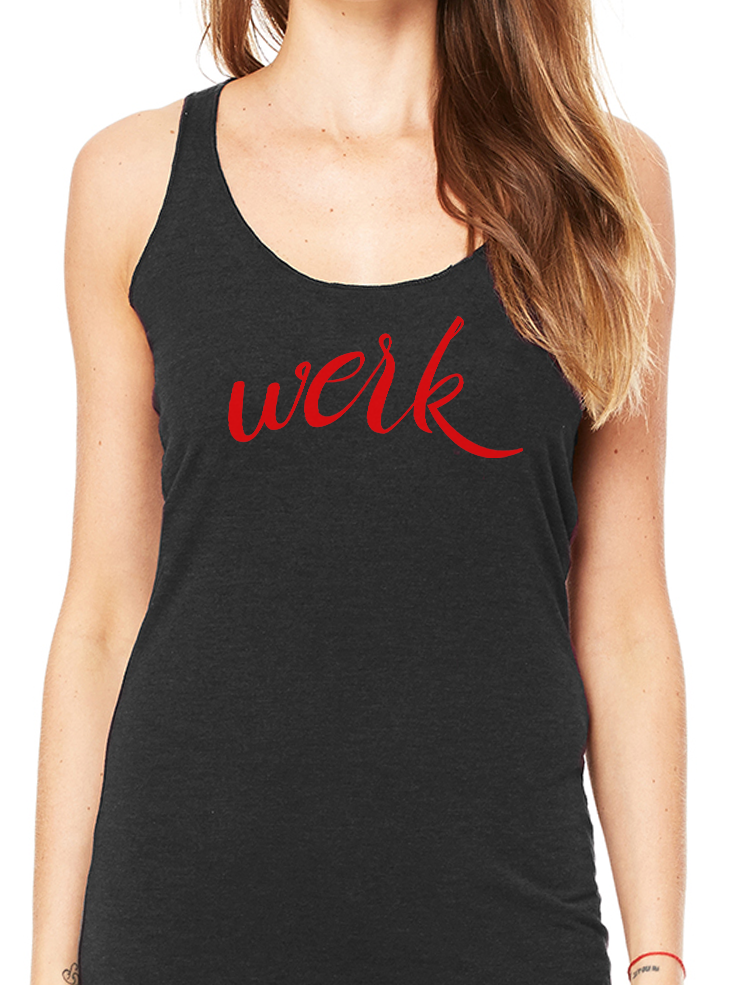BeYouTees® Werk II graphic tank
