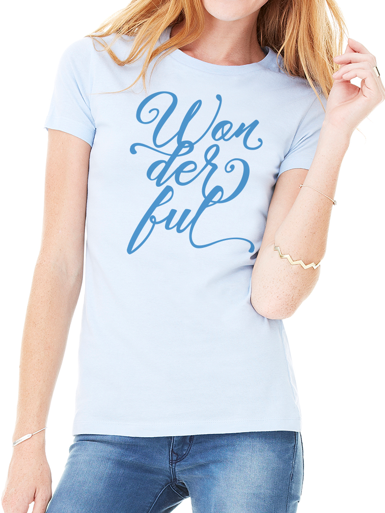 BeYouTees® Wonderful tee