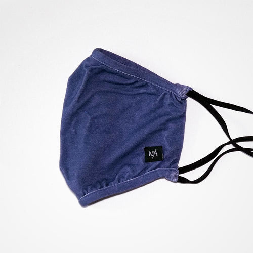 Bijou Blue Reusable Bamboo Face Mask | MA Clothing Company