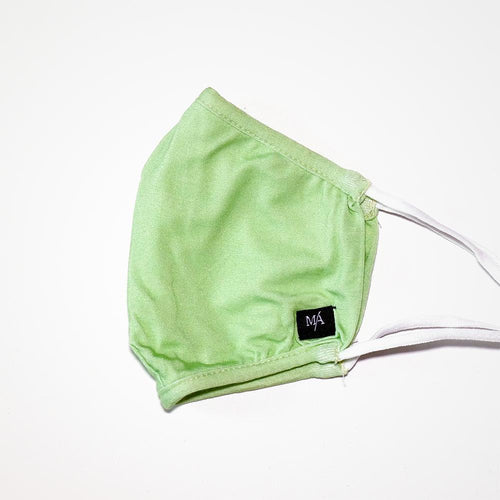 Nile Green Bamboo Face Masks | MA Clothing Company