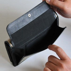 LAOOP LONG WALLET ・black