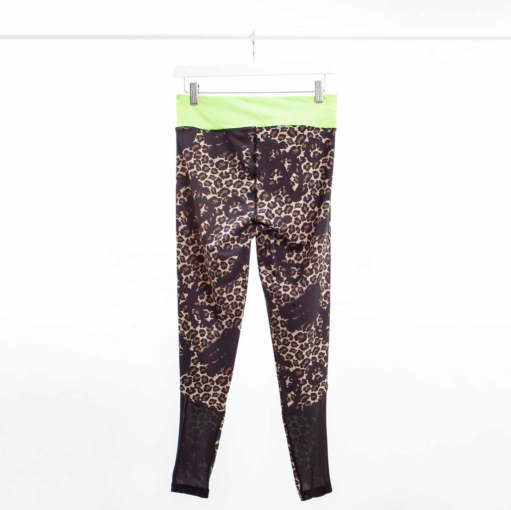 ASOS 4505 Leopard Print Legging with Graffiti Logo