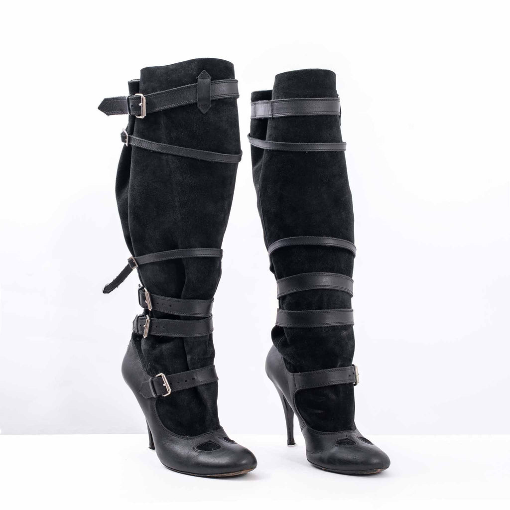 Vivienne Westwood Boots with Wraparound Buckles