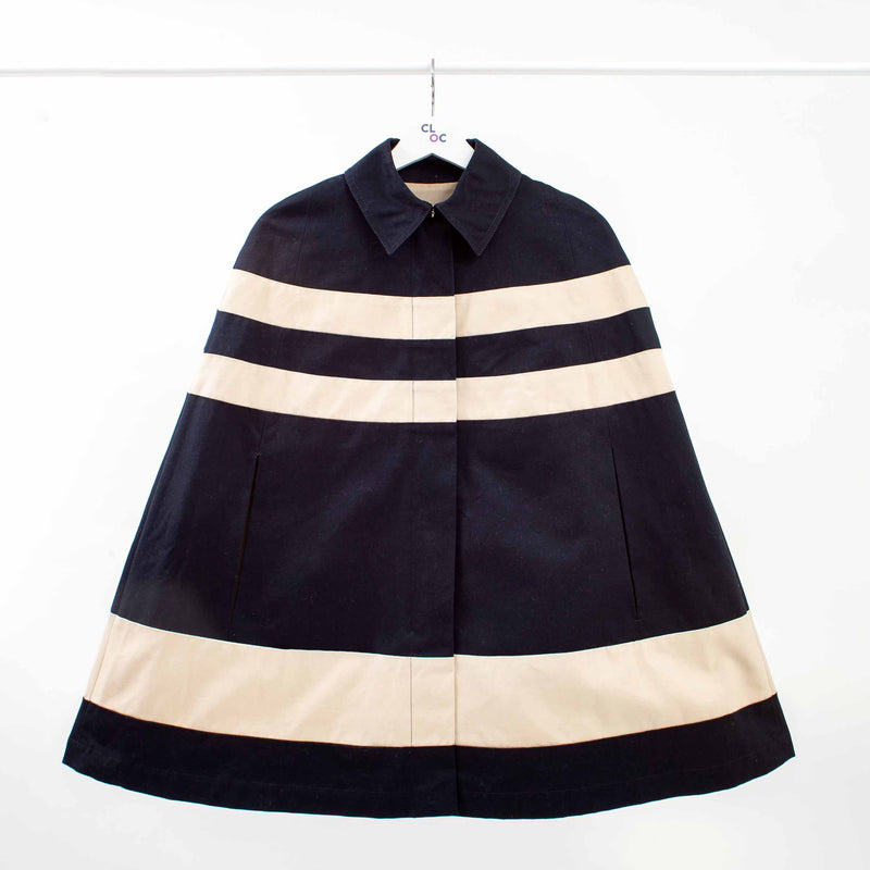 See by Chloe Striped Cape, Size: 2 US