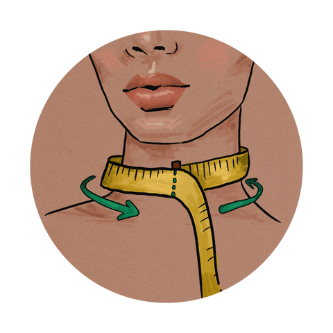 Chava Studio: How to measure your neck