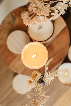 Orange & Clove Scented Candle