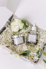 Pamper Me - Yuzu Blossoms + Indonesian Patchouli Gift Set - Whipped Body Crème & Botanical Body Oil
