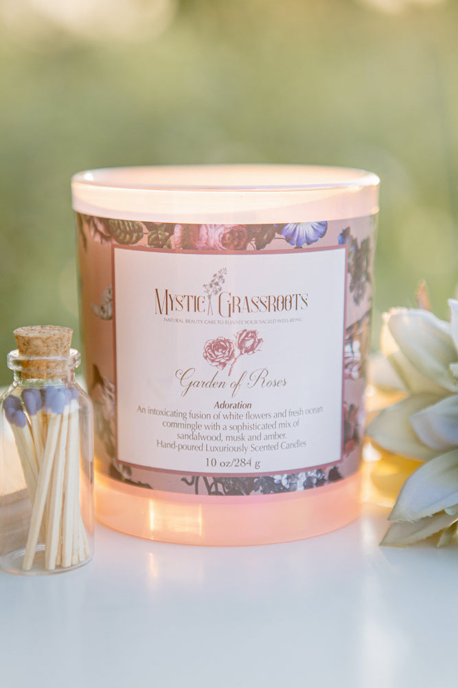 Garden of Roses Scented Candle