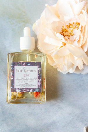 Load image into Gallery viewer, Jasmine + Sandalwood - Botanical Body Oil