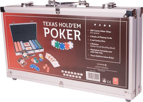 Pokerset Texas Hold'em 300 chips