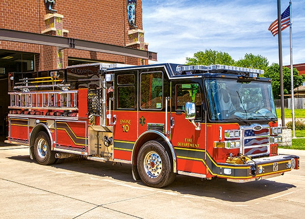 Fire Engine Puzzle - 180 stukjes