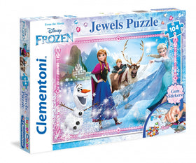 Disney Frozen Jewels Puzzle - 104 stukjes