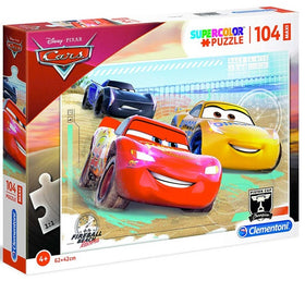 Disney Cars Maxi Supercolor Legpuzzel -  104 stukjes
