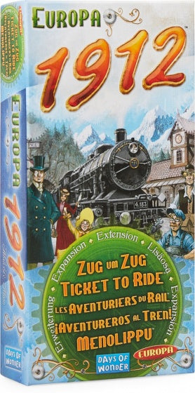 Ticket to Ride - Europe 1912 Uitbreiding