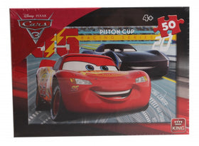 Disney Cars Legpuzzel Race Ready - 50 stukjes