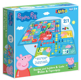 Peppa Pig - 2 Bordspelletjes