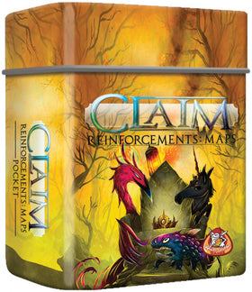 Claim Reinforcements Uitbreidingen: Maps pocket / Magic Pocket / Mercenaries Pocket - NL