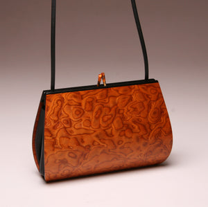 """Calliandra"" Medium Handbag-Single Strap - Pommele Obechi"