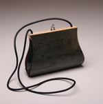 "Load image into Gallery viewer, ""Sativa"" Medium Handbag-Single Strap - Grey Dyed Birdseye Maple"