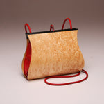 "Load image into Gallery viewer, ""Sativa"" Medium Handbag-Single Strap - Birdseye Maple"