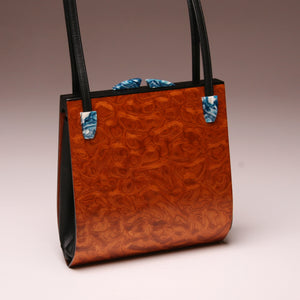 """Trillium"" Medium Handbag-Double Strap - Pommele Obechi"
